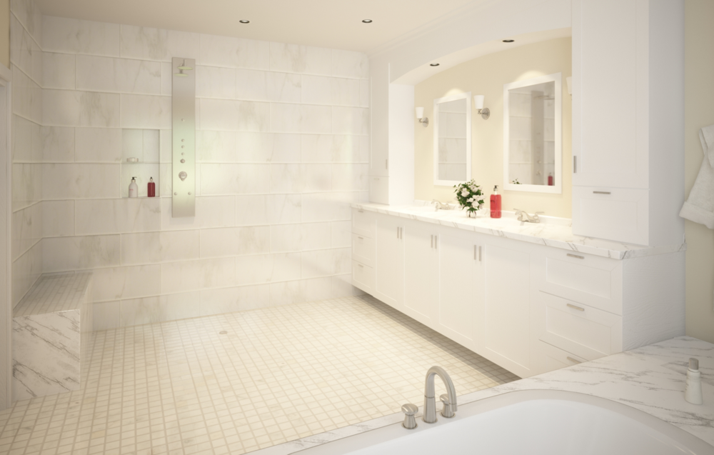 West vancouver bathroom renovation heilman renovations for Bathroom design vancouver