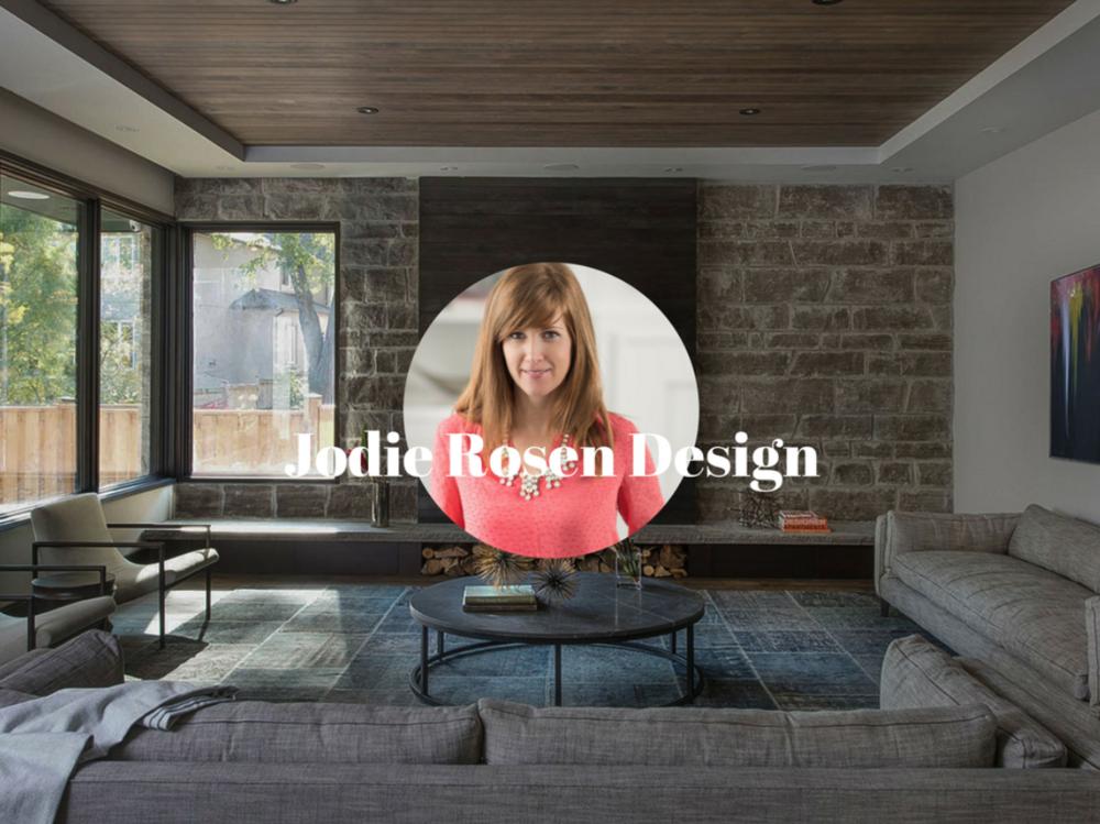 Jodie Rosen, Jodie Rosen Design, Toronto Canada