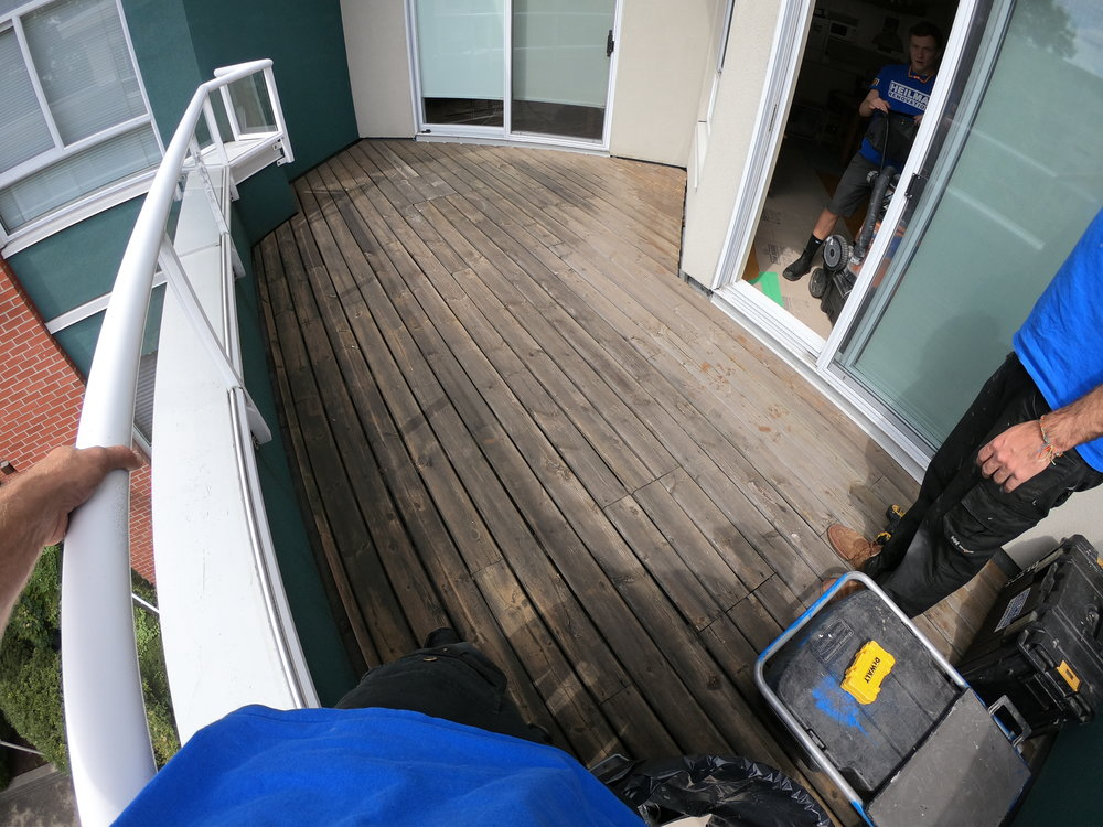 North Vancouver Deck Renovation