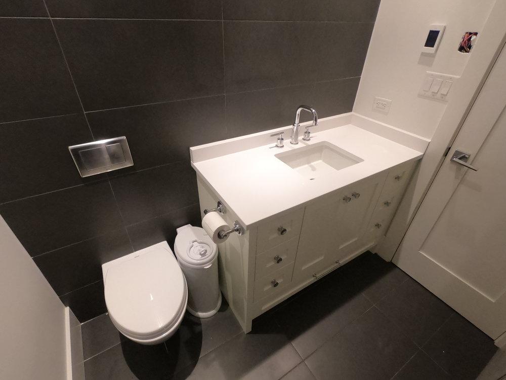 Bathroom renovation finished