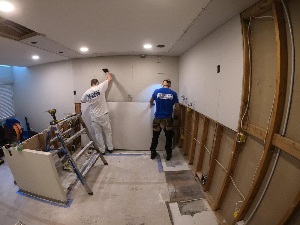 New drywall instalation