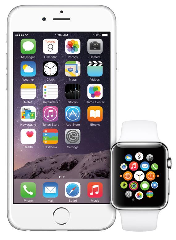 iPhone 6, iPhone 6 Plus & Apple iWatch
