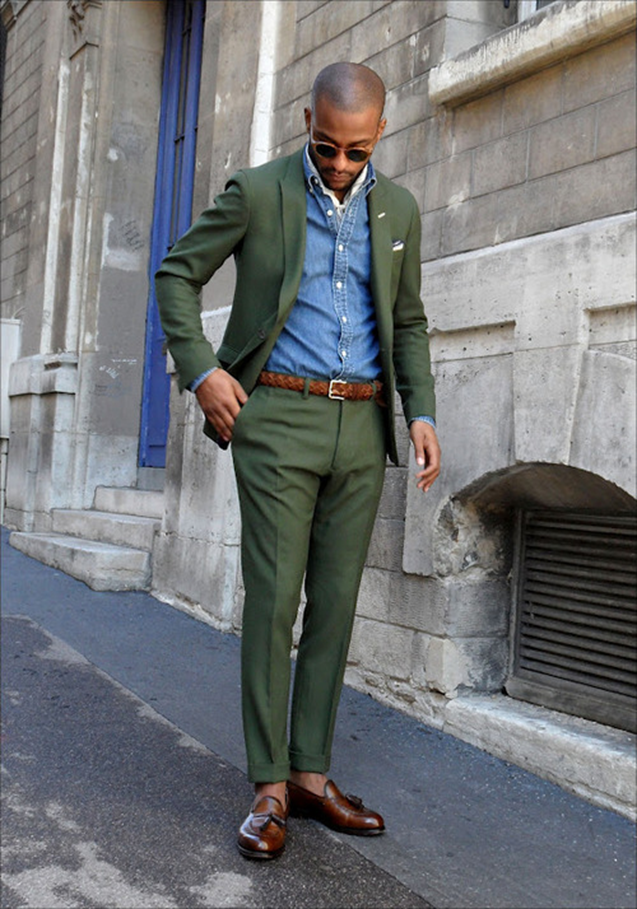 Green-Suit-Denim-Shirt-Brown-Loafers.png