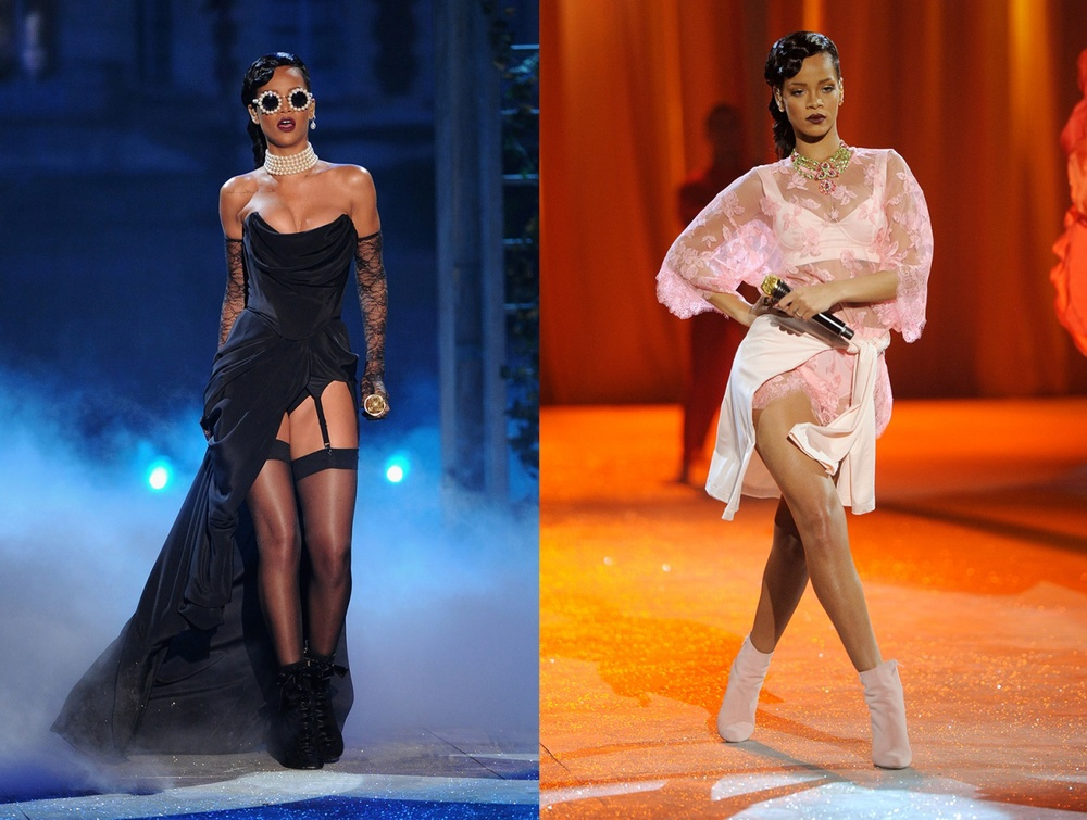 Rihanna at the Victoria's Secret Fashion Show, November 2012