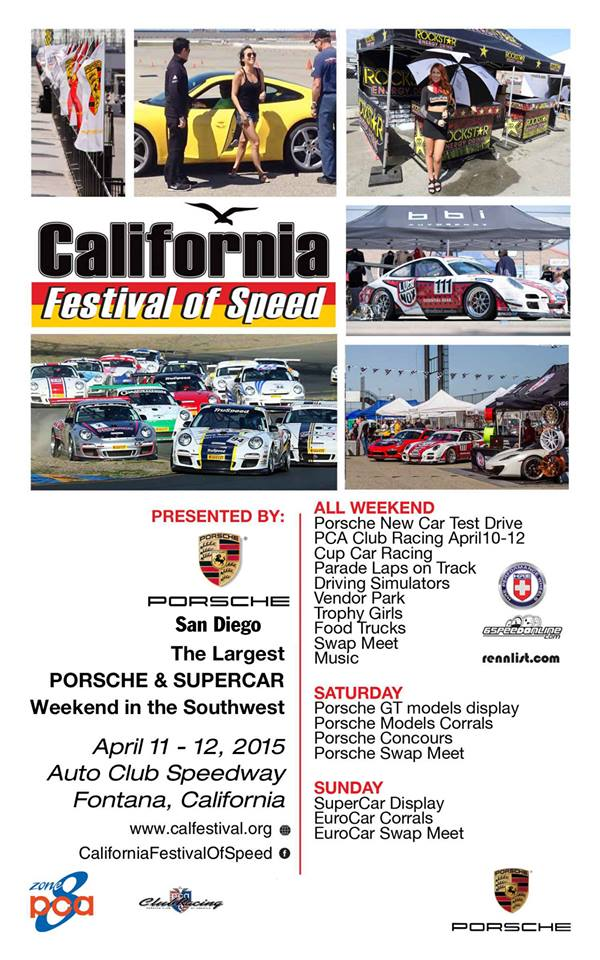 CALIFORNIA FESTIVAL OF SPEED