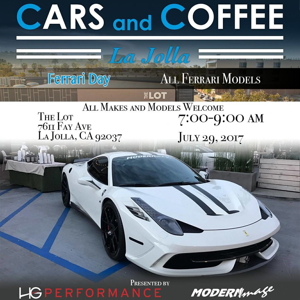 Cars and Coffee-la-jolla