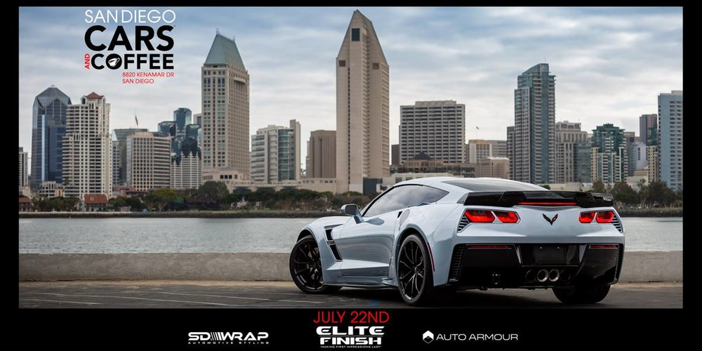 San Diego Cars and Coffee July 22