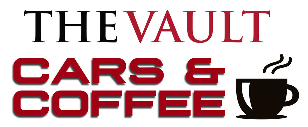 The Vault Cars & Coffee logo