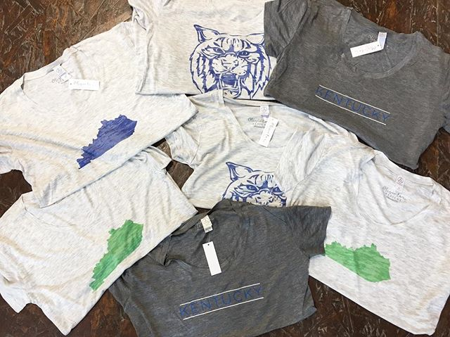 And Kentucky plays on Saint Paddy's day again! Come to @grainwell and get yourself a shirt! They'll be online next week 💙💚