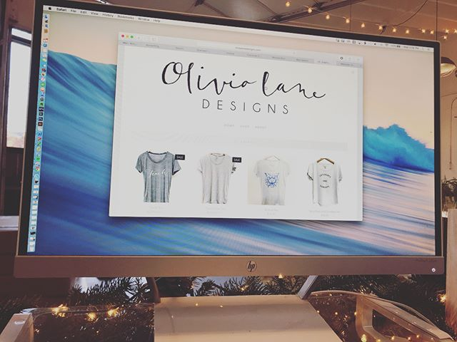 It's hard to believe that four years ago I started Olivia Lane Designs to make spending money while I was in graduate school. It grew so fast and has changed so much- it started as monogram gifts and baby onesies and ended up as an online boutique carrying city and state tees and our infamous 'teach' tees.  I ended up joining my sisters and starting @grainwell three years ago and since then Grainwell grew and took over most of my time. I have learned SO much over the years and it's bittersweet to say the Olivia Lane website will be shut down in February. With that said, the small amount of stock we have left is on sale! Thanks everyone for the support over the years, it sure was a blast! Now follow and support @grainwell if you don't already!! 🤗
