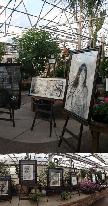 Melissa Carmon Myers art fine art show