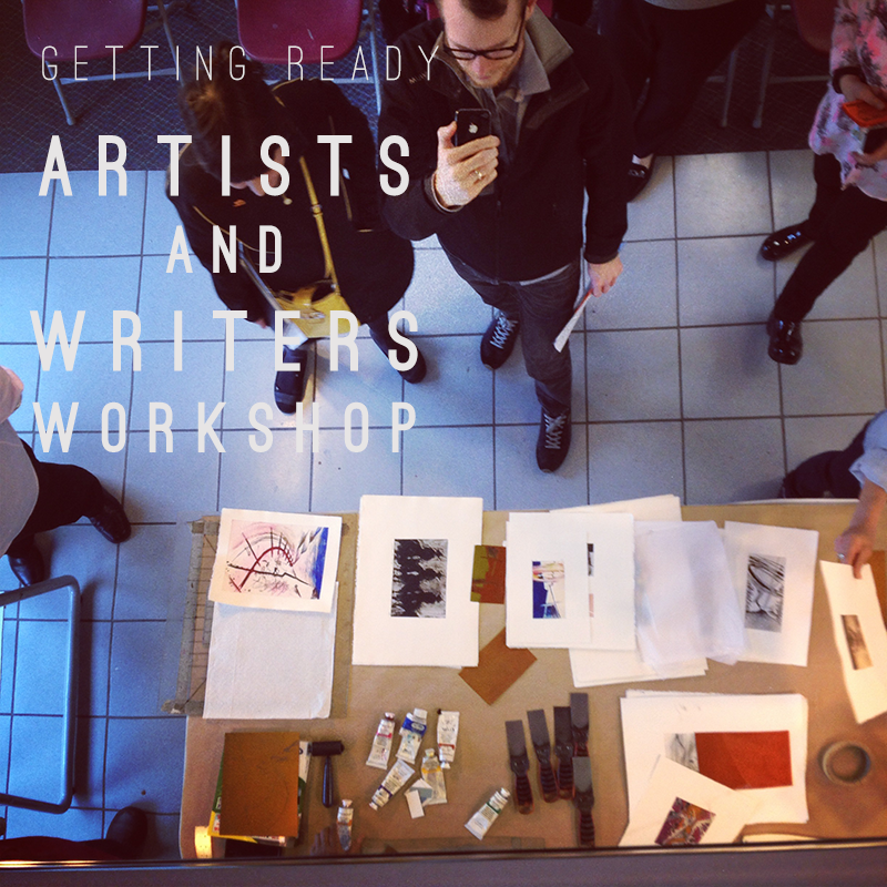 Melissa Carmon Myers Art Workshop Artists Writers Musicians Get Ready