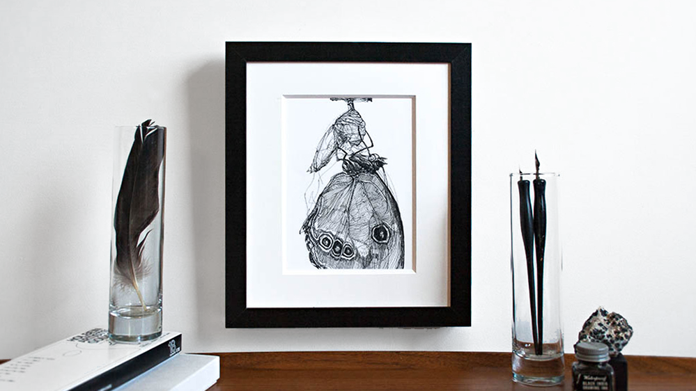 Melissa Carmon Art Natural History Drawings