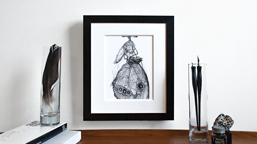 Melissa Carmon Art Natural History Drawings