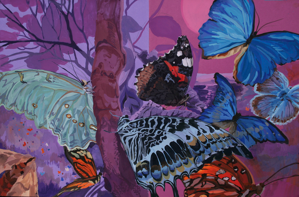 The Night Butterflies by Melissa Carmon