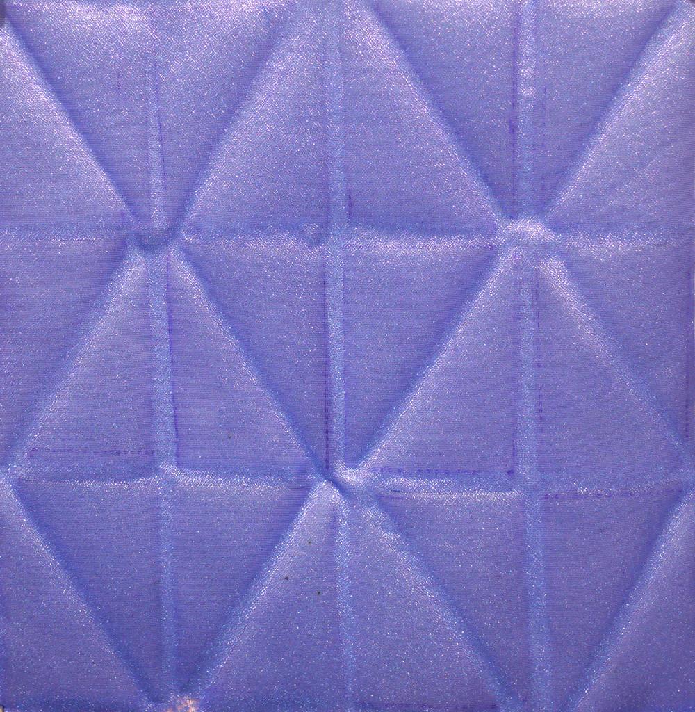 Heatpressed vinyl on silk