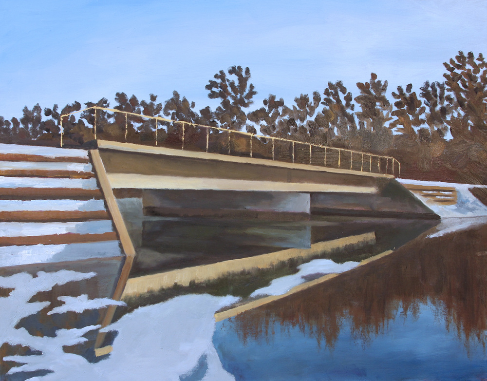 Bridge at Lake Roland - Theo Leasca.jpg