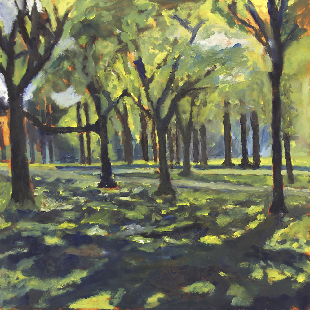 Central Park, July - 15_x15_ Oil on Panel - Huntington Williams.jpg