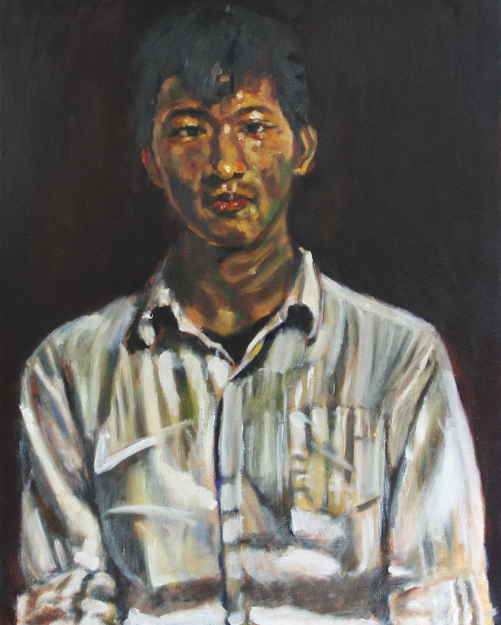 Biren - 20%22x16%22 Oil on Canvas - Elie Barongozi.jpg