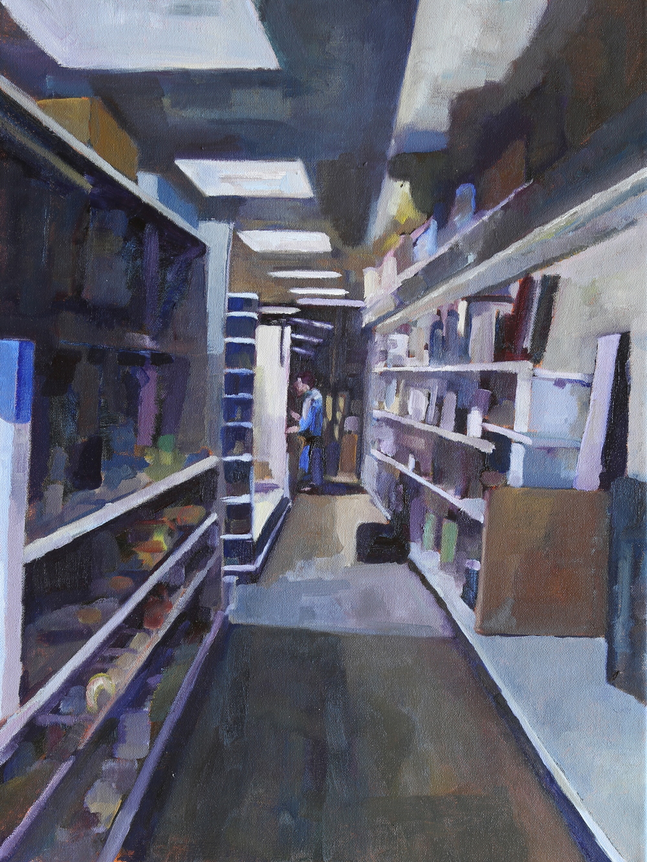 Kevin Kuczynski - Shopping - 24x16.jpg