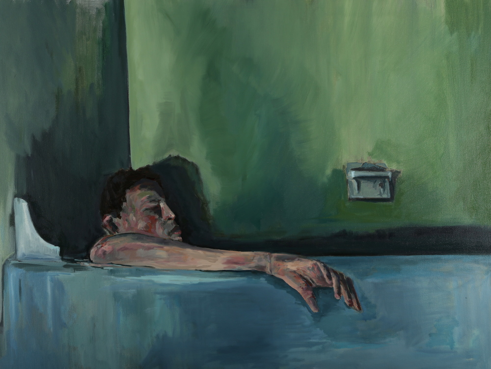 Wiley Hopkins - bathtime - 20x30.JPG