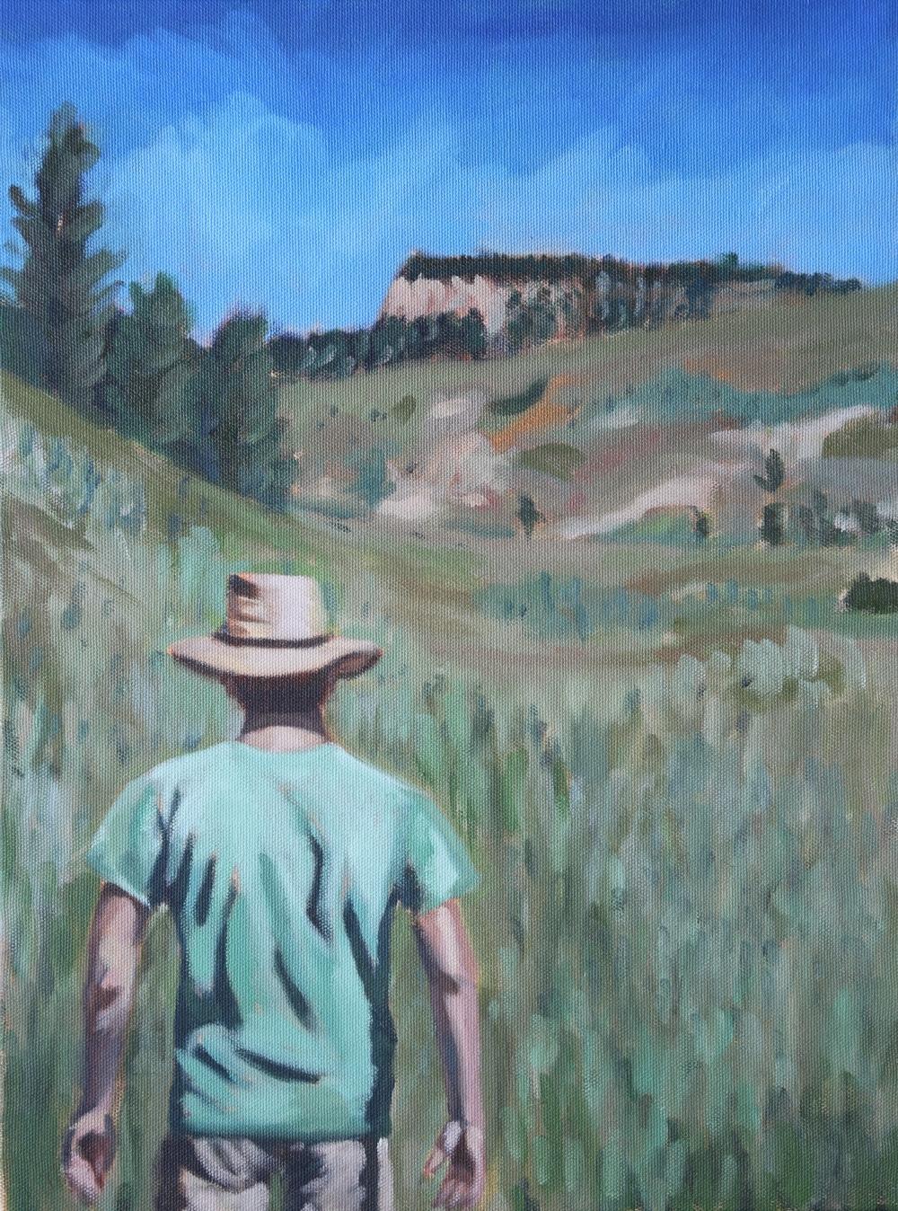 Gram Davis - Montana Heights - 14 x 11.JPG