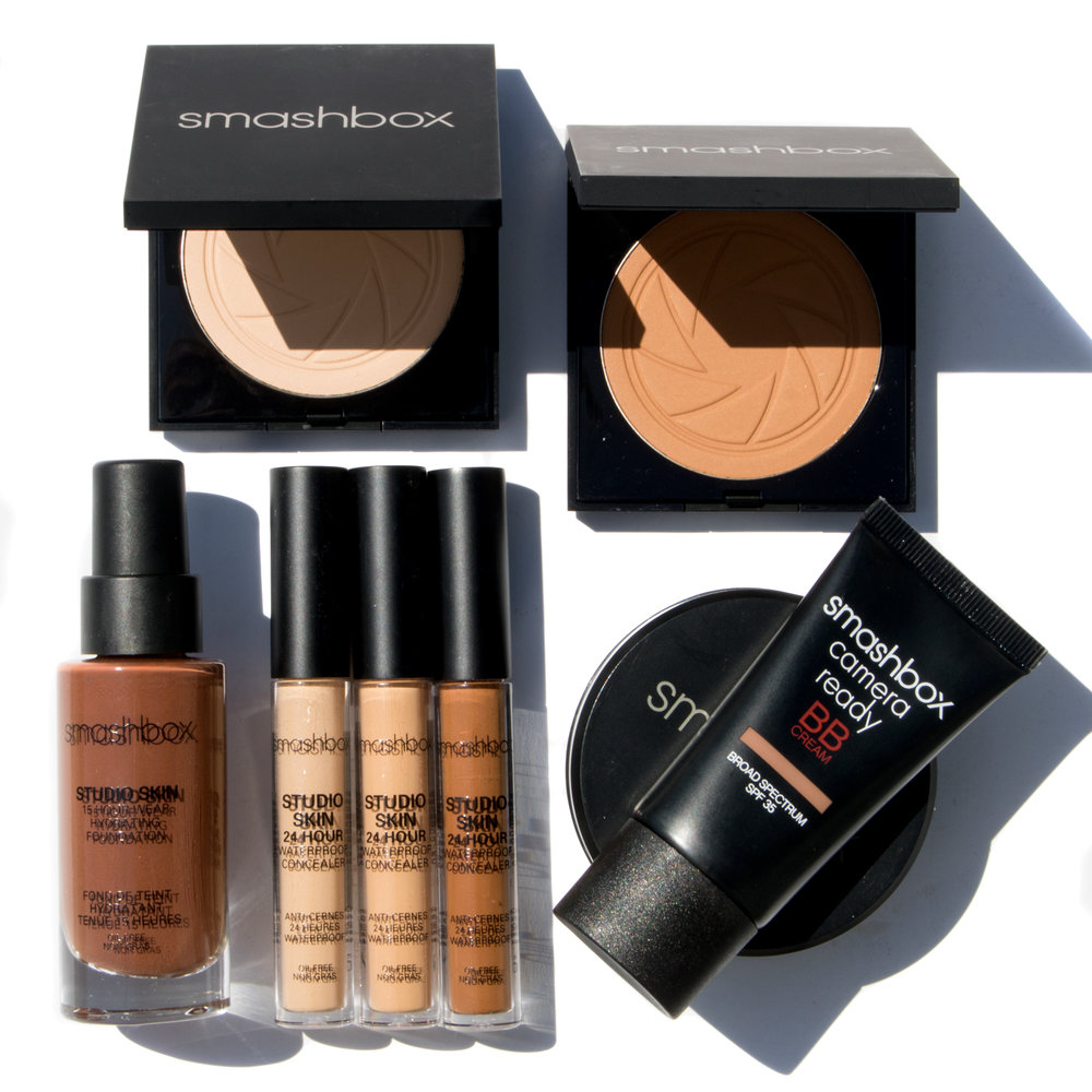 Studio Skin Campaign Created a studio lighting technique unique to Smashbox social photography.