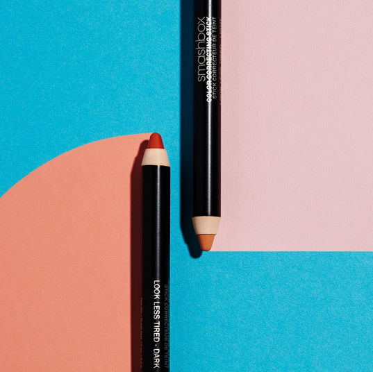 Color Correction Campaign  Looking for new ways to graphically translate the benefits of color correcting sticks. And telling a bold color story unique to product pay off.