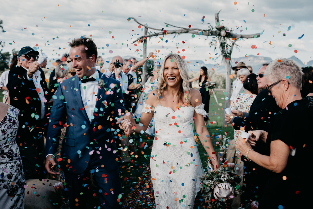 BLAKE + KATE - Knowing a day wouldn't be enough to celebrate their long-awaited nuptials, childhood sweethearts Kate and Blake threw a three day wed fest to remember at the groom's family farm