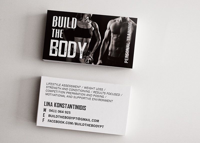 Logo design for a personal trainer