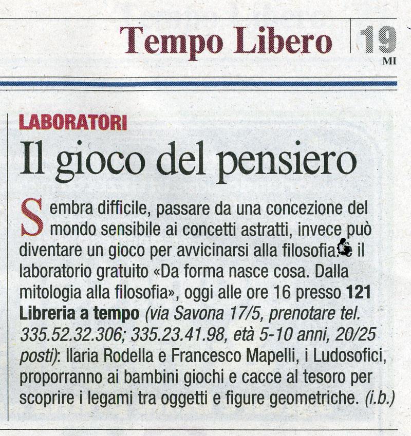 Corriere della Sera - 6 marzo 2010