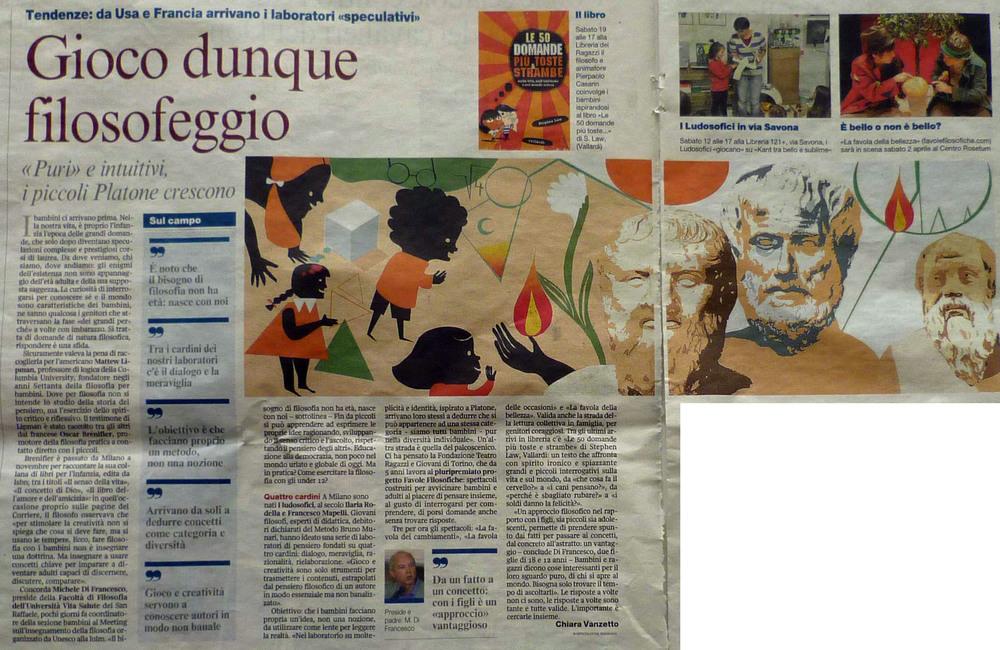 Corriere della Sera  - 6 marzo 2011