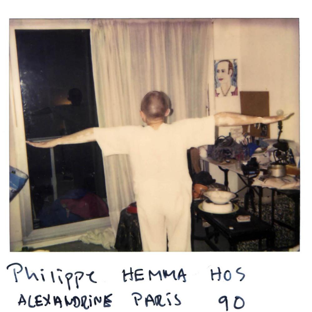 Philippe hemma hos Alexandrine  Paris-90