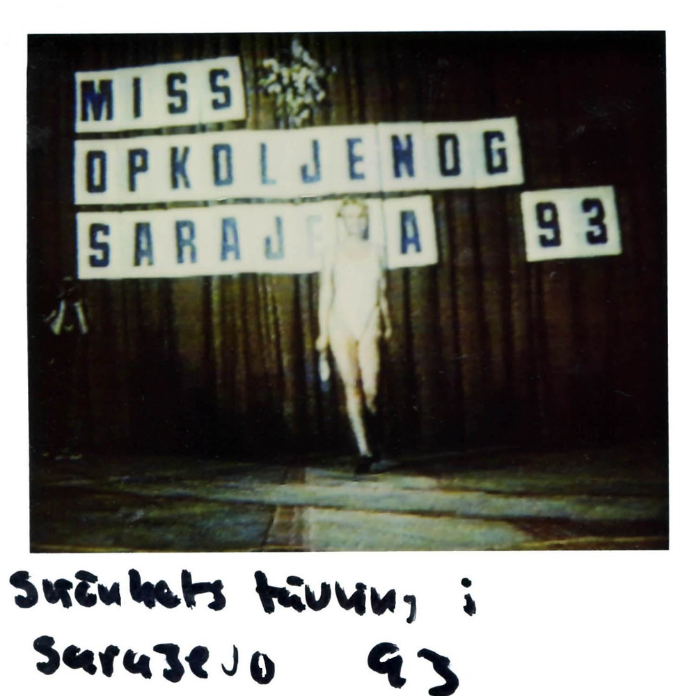Beauty contest in Sarajevo -93