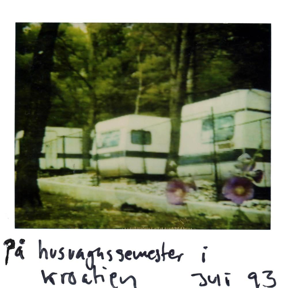 Camping in Croatia  July -93