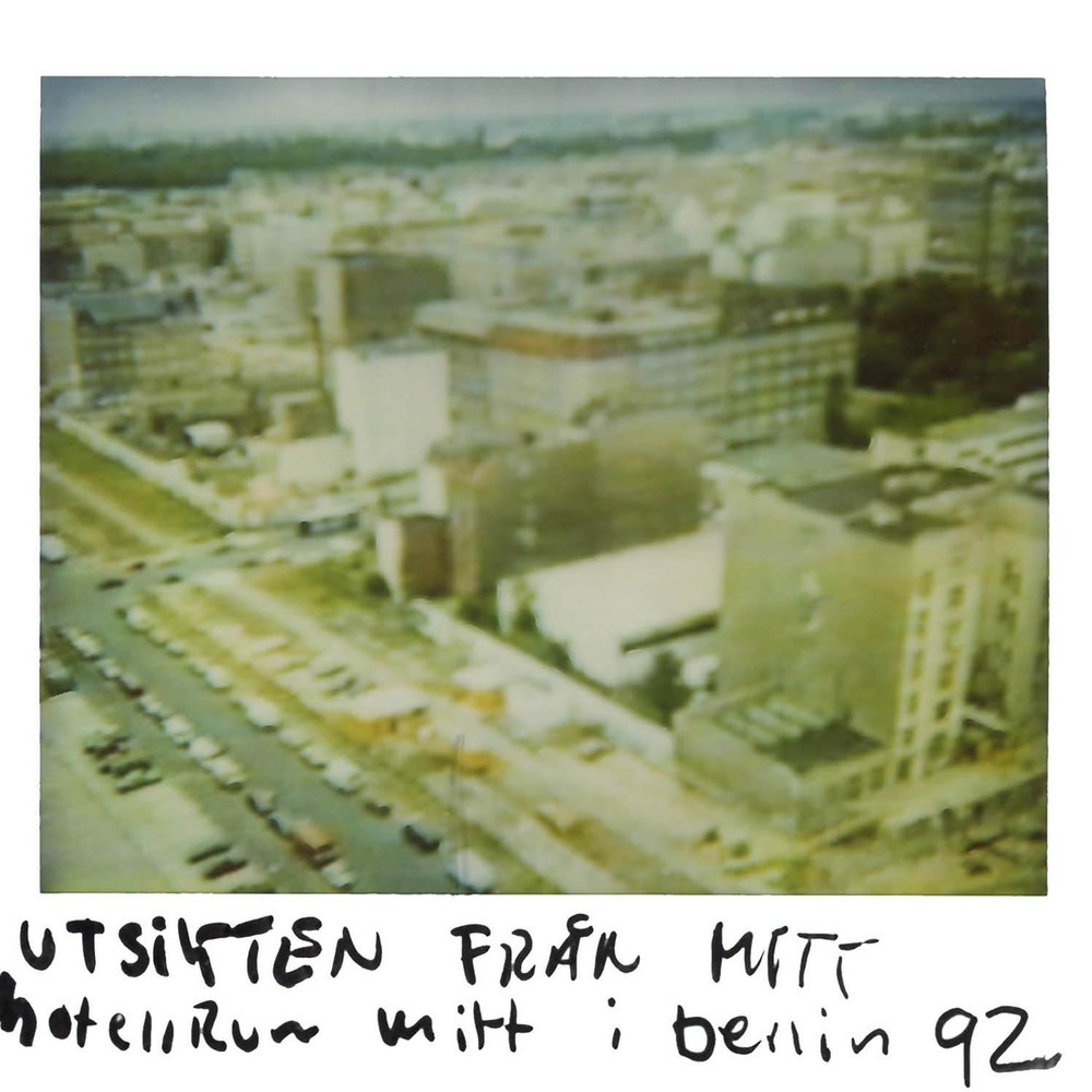 The view from my hotel room in   Berlin   -92