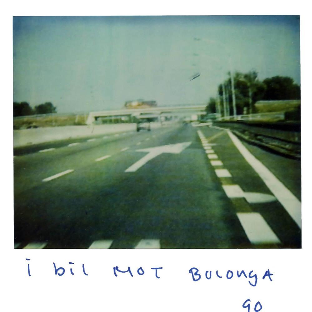 In the car towards Bologna
