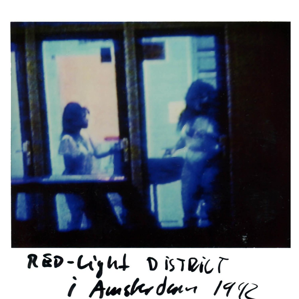 The red-light District  (again )  Amsterdam 1992