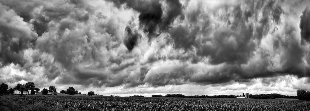 Thunderstorms in July – Warren County, Ohio – 2013