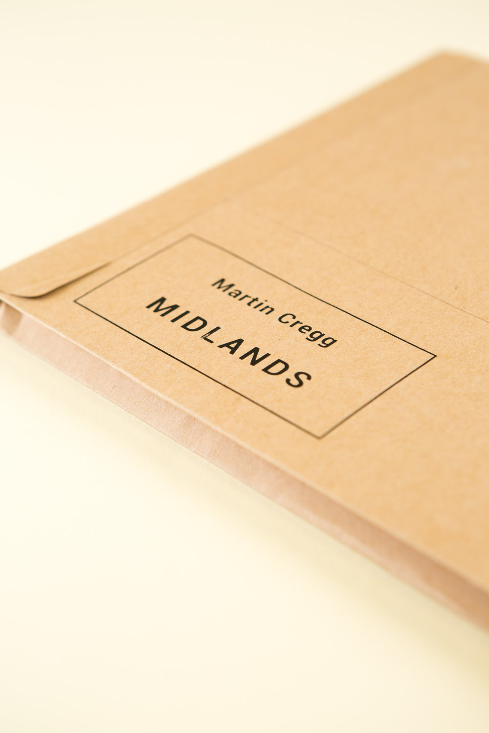 Self-published photobook 'Midlands' featuring photography by Martin Cregg and design by Read That Image.