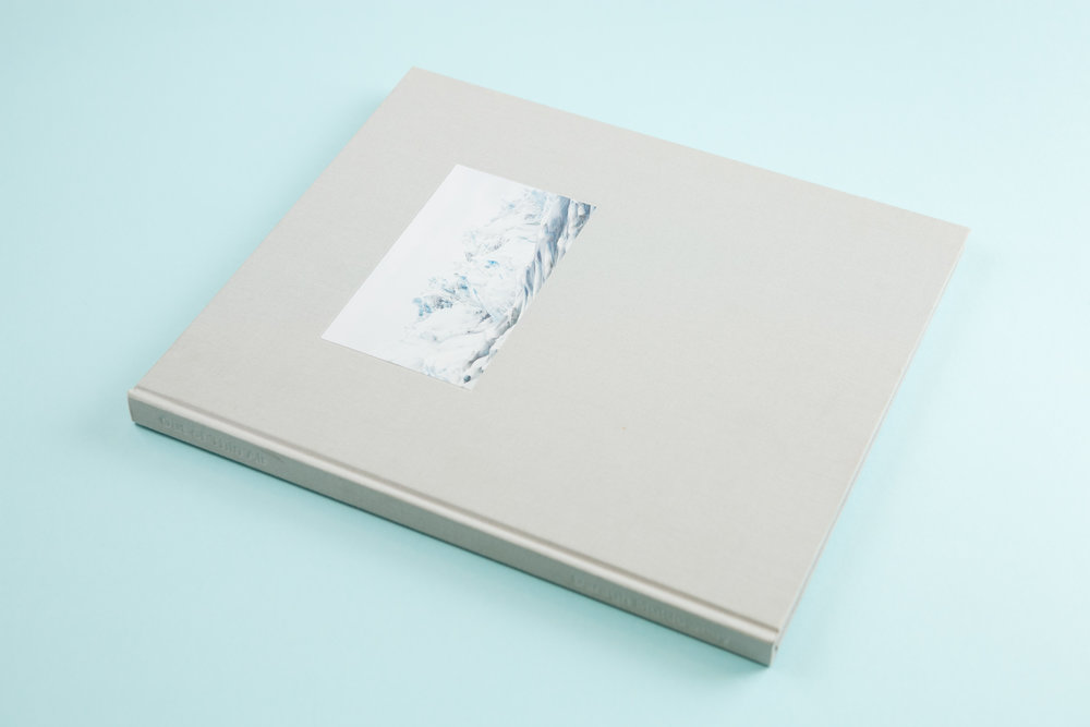 Self-published photobook 'Out of Thin Air' featuring photography by Daragh Muldowney and design by Read That Image.