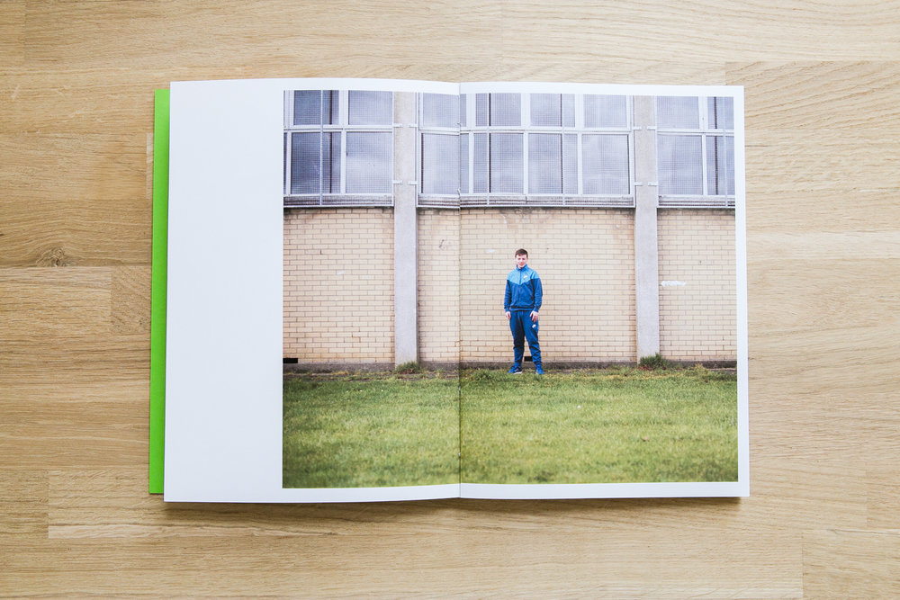 Sophia Vigne Welsh's photobook dummy created during a One-on-One workshop with the Read That Image team.