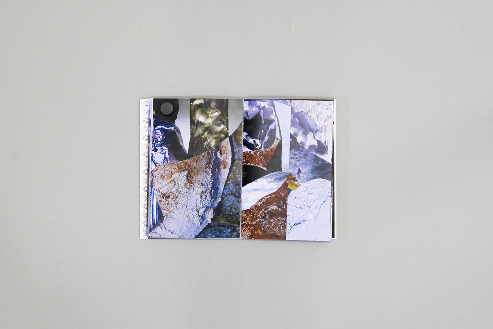 Jean Dunne's photobook dummy created during a Make a Photobook workshop with the Read That Image team in Dublin, Ireland.