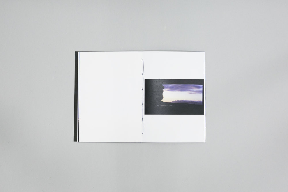 Patricia Herrero's photobook dummy created during a Make a Photobook workshop with the Read That Image team in Dublin, Ireland.