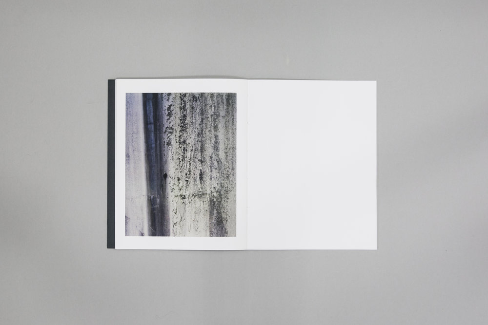 Fionn McCann's photobook dummy 'Extraction' created during a Make a Photobook workshop with the Read That Image team in Dublin, Ireland.