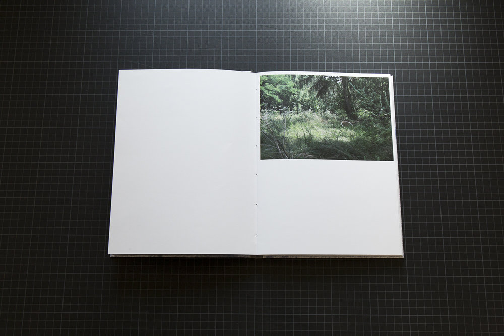 Ethna O'Regan's 'Everything is within Reach' photobook dummy created during a One-on-One workshop with the Read That Image team.