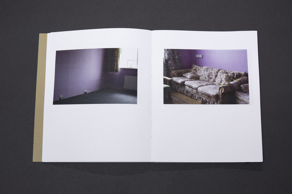 Dara McGrath's 'Project Cleansweep' photobook dummy created during a One-on-One workshop with the Read That Image team.