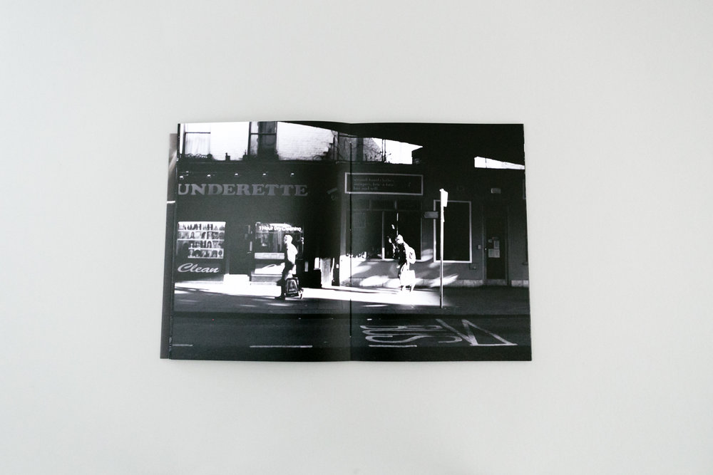 Sébastien Rannou photobook dummy created during Read That Image Make a Photobook Workshop Dublin Ireland