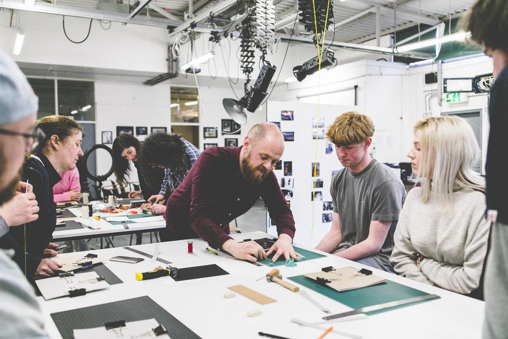 create a workshop -