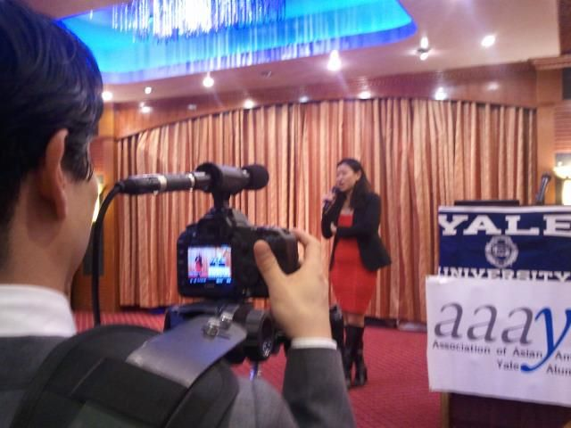 Lily speaking at AAAYA event 2/2012
